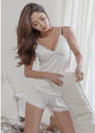 메이유 sleeveless set (2P)